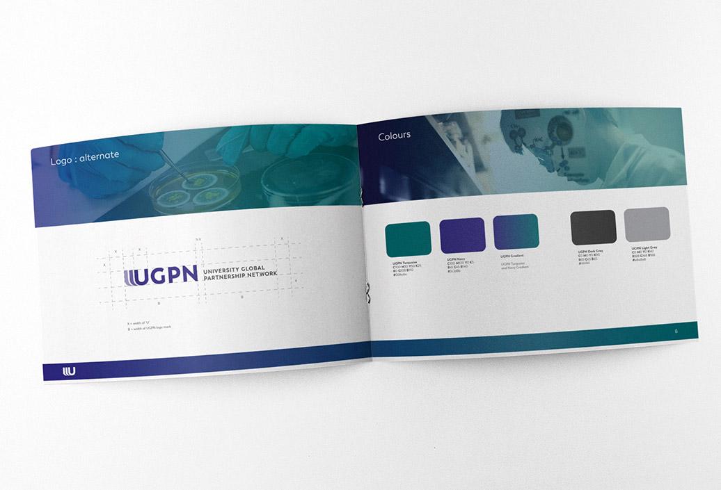University Global Partnership Network brand identity