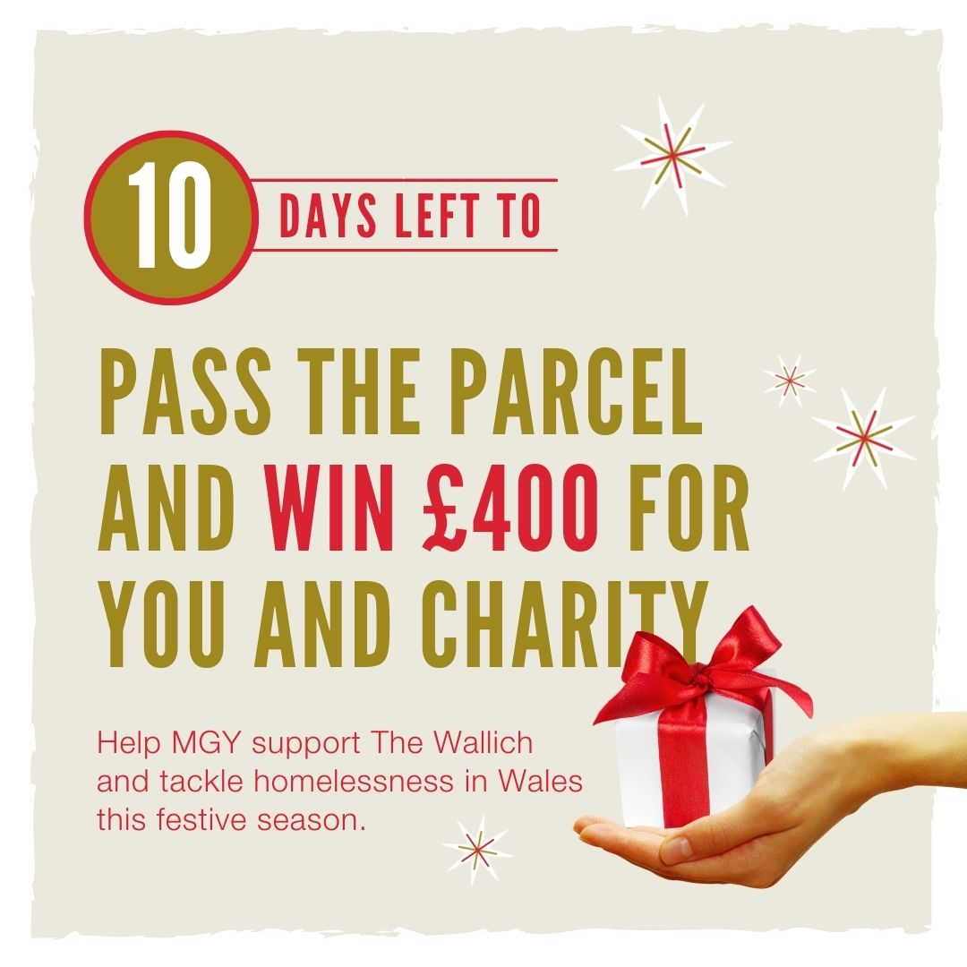 MGY pass the parcel social media promotion 10 days left reminder