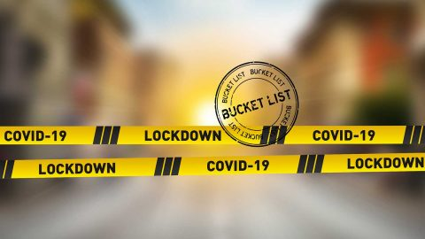 Coronavirus lockdown bucket list