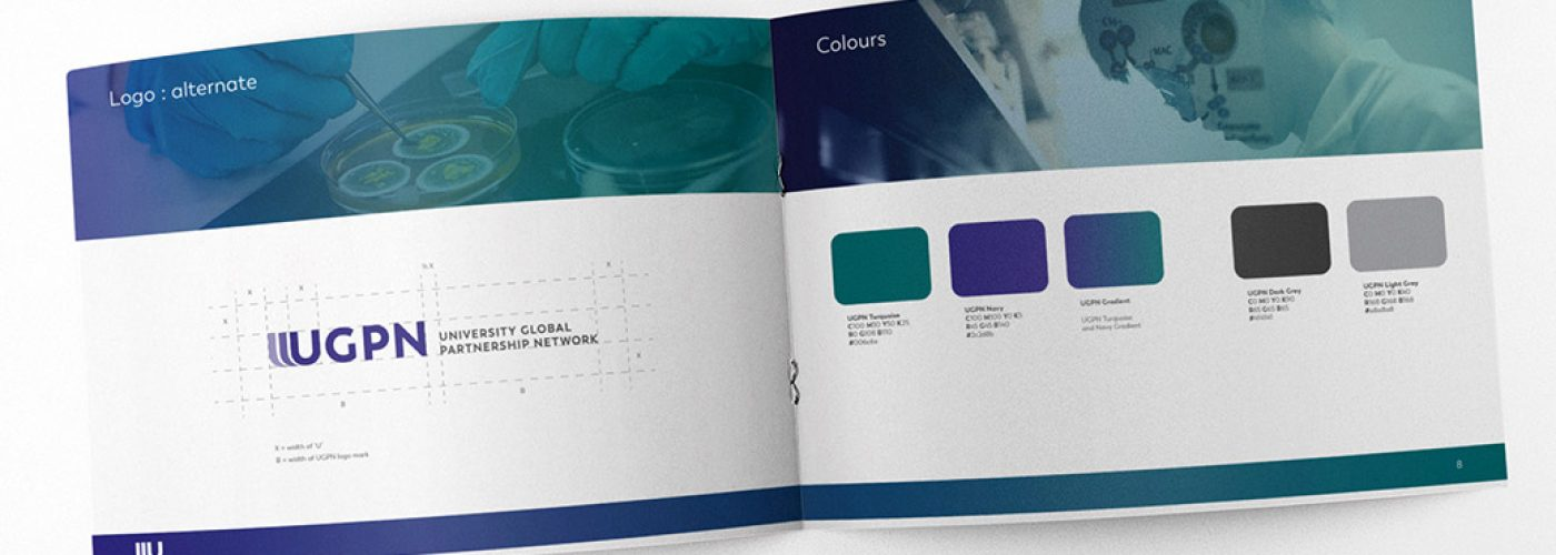 Brand identity guideline for the University Global Partnership Network